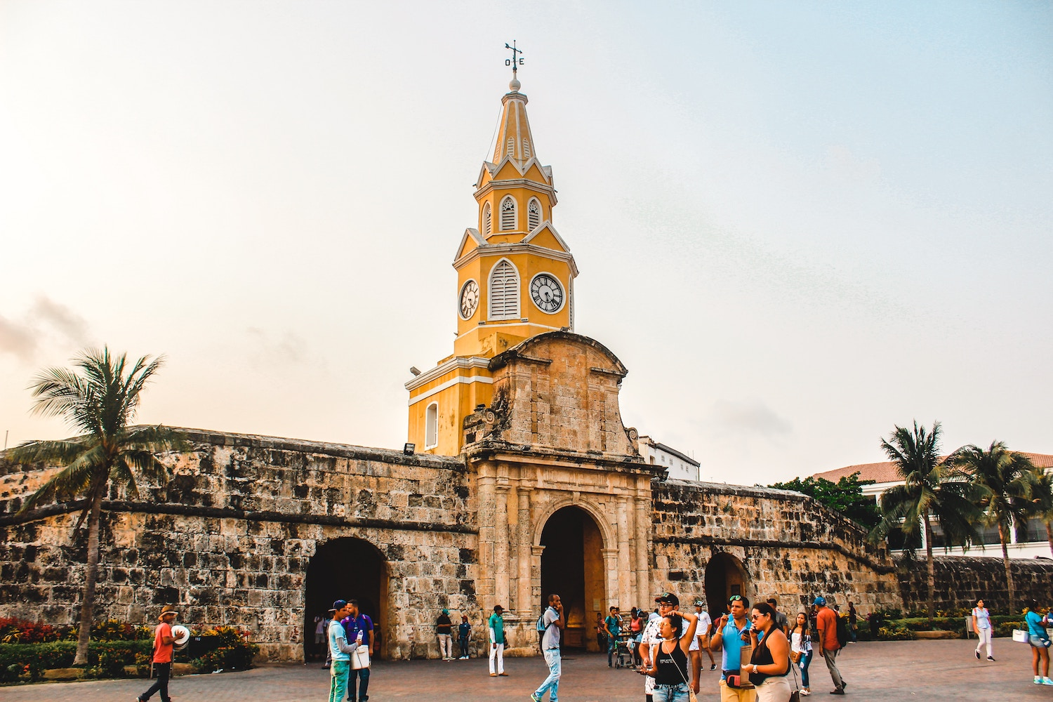 clock tower | Things to do in Cartagena Colombia