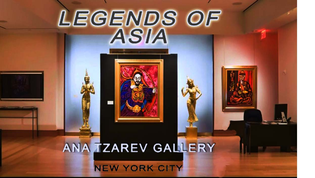 Anatzarev - Legends of Asia