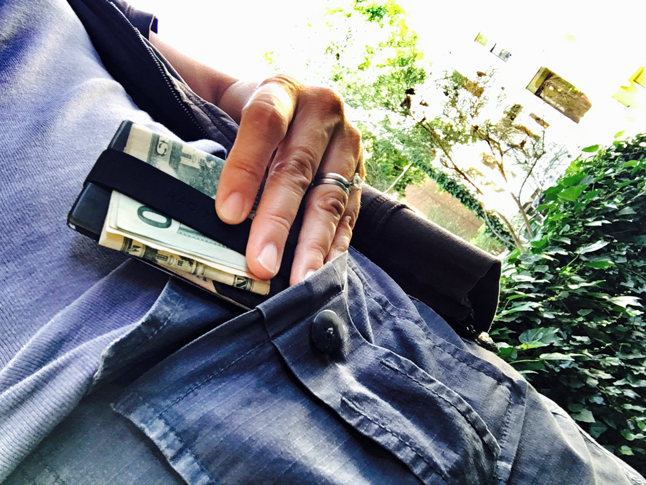 Love my  Radix One wallet