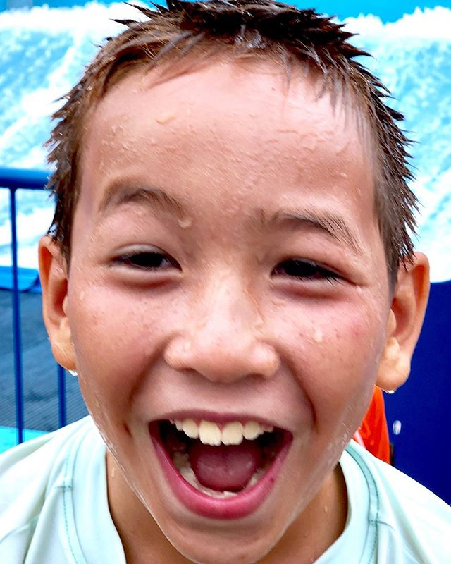 And here is how happy he was afterwards! . #photosanity #resiliencethroughjoy #womensleadership #womensleadershipcoach #photographycoach #parenting #motherhood #momlife #workingmomlife #nineyearsold #waterpark #ugiwaverider #campingvacation #endofsummer #ilovemylife #ilovemykids #capturethemoment #bepresent #gratitudedaily #loveisresistance