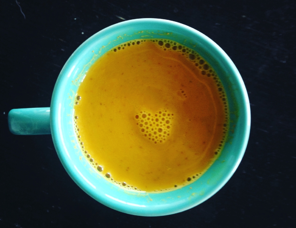 Can't sleep? Sore muscles? Battling a cold? Golden Milk Latte is here to the rescue!