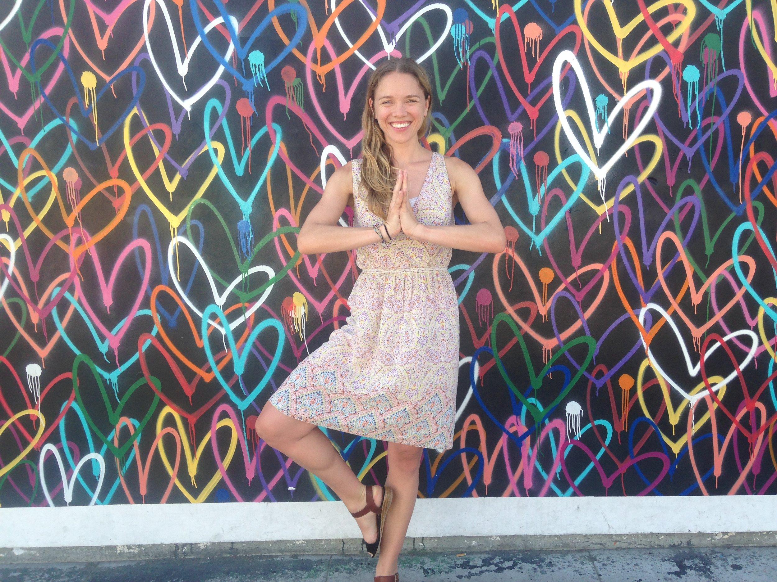 Love Wall in Venice Beach, California
