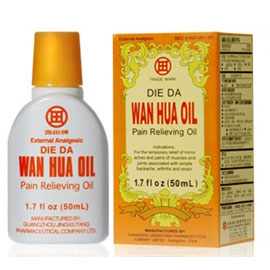 die da wan hua oil for wound care