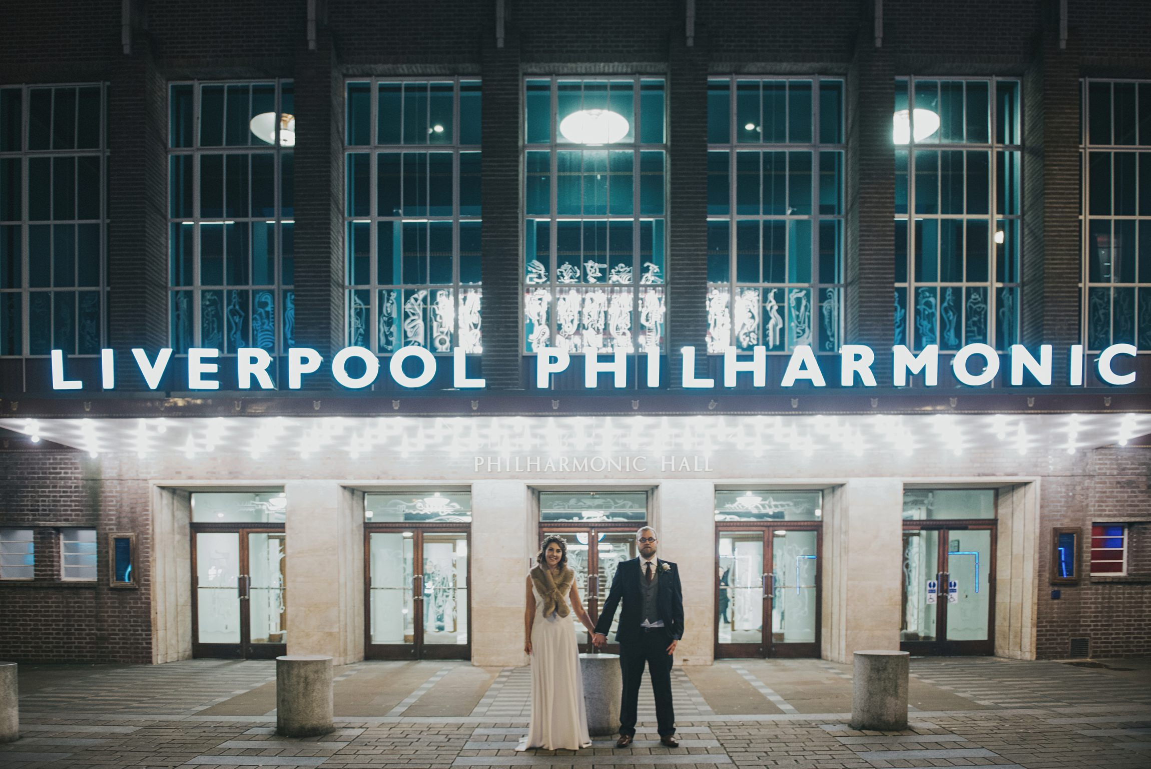 Liverpool philharmonic wedding
