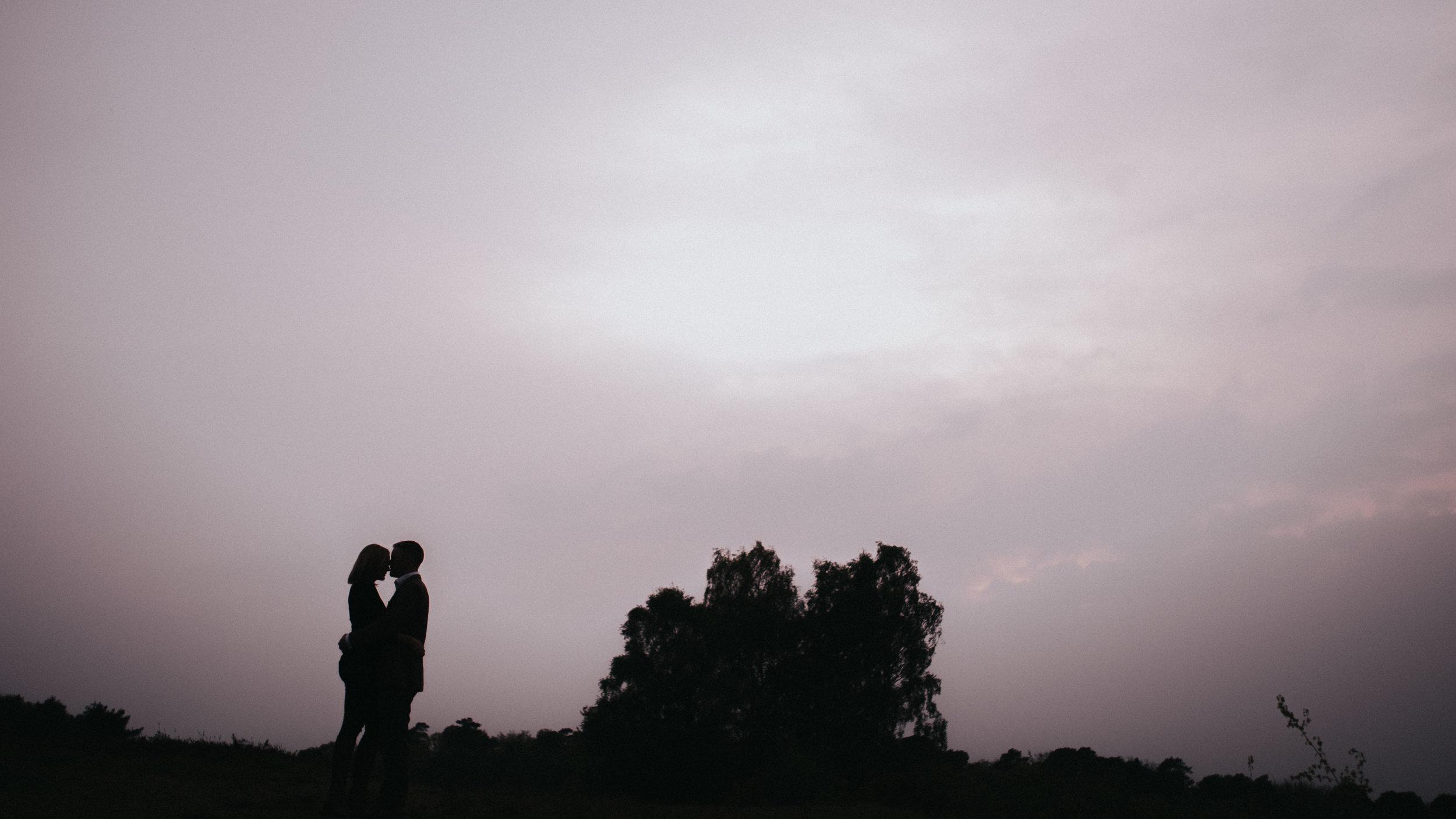 Ashdown forest pre wedding shoot