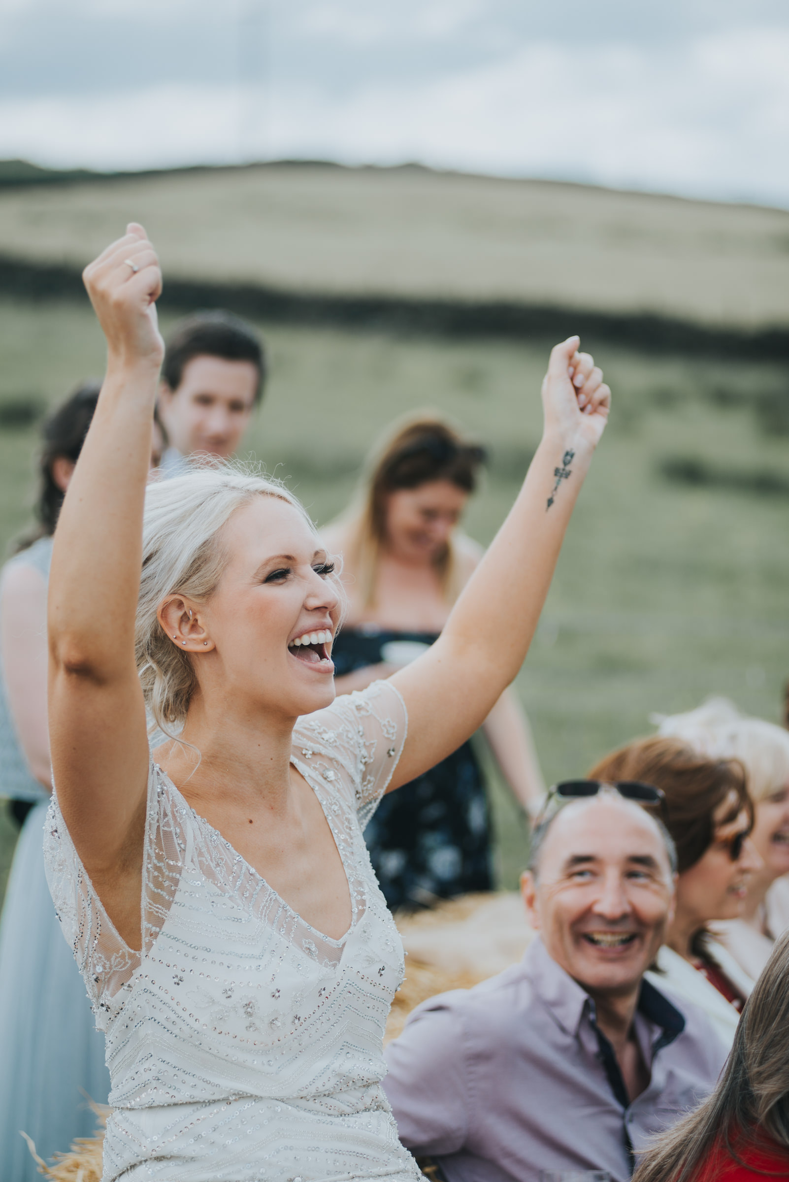 speeches outdoors at weddings
