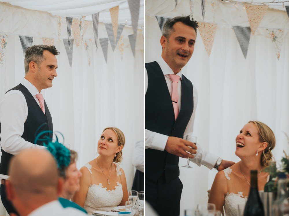 speeches and candid photos