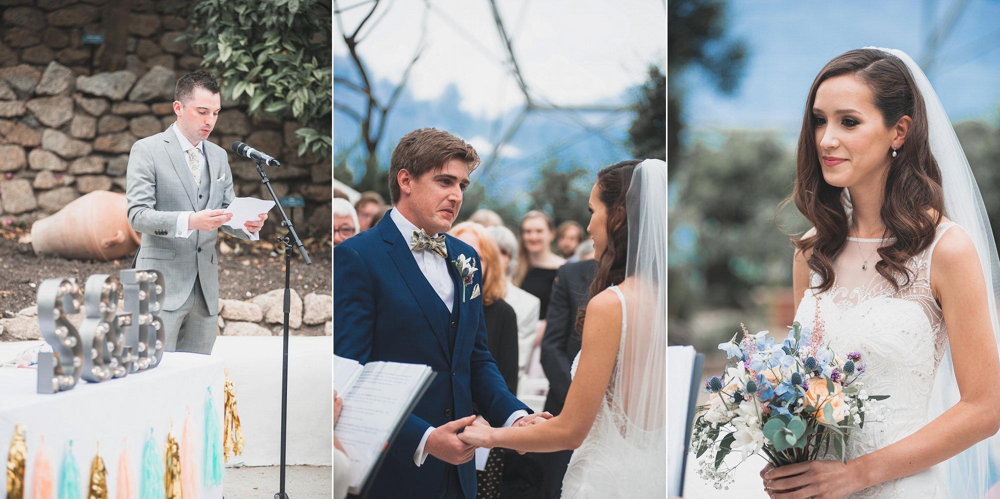 Eden Project Wedding, Cornwall Wedding Photographer