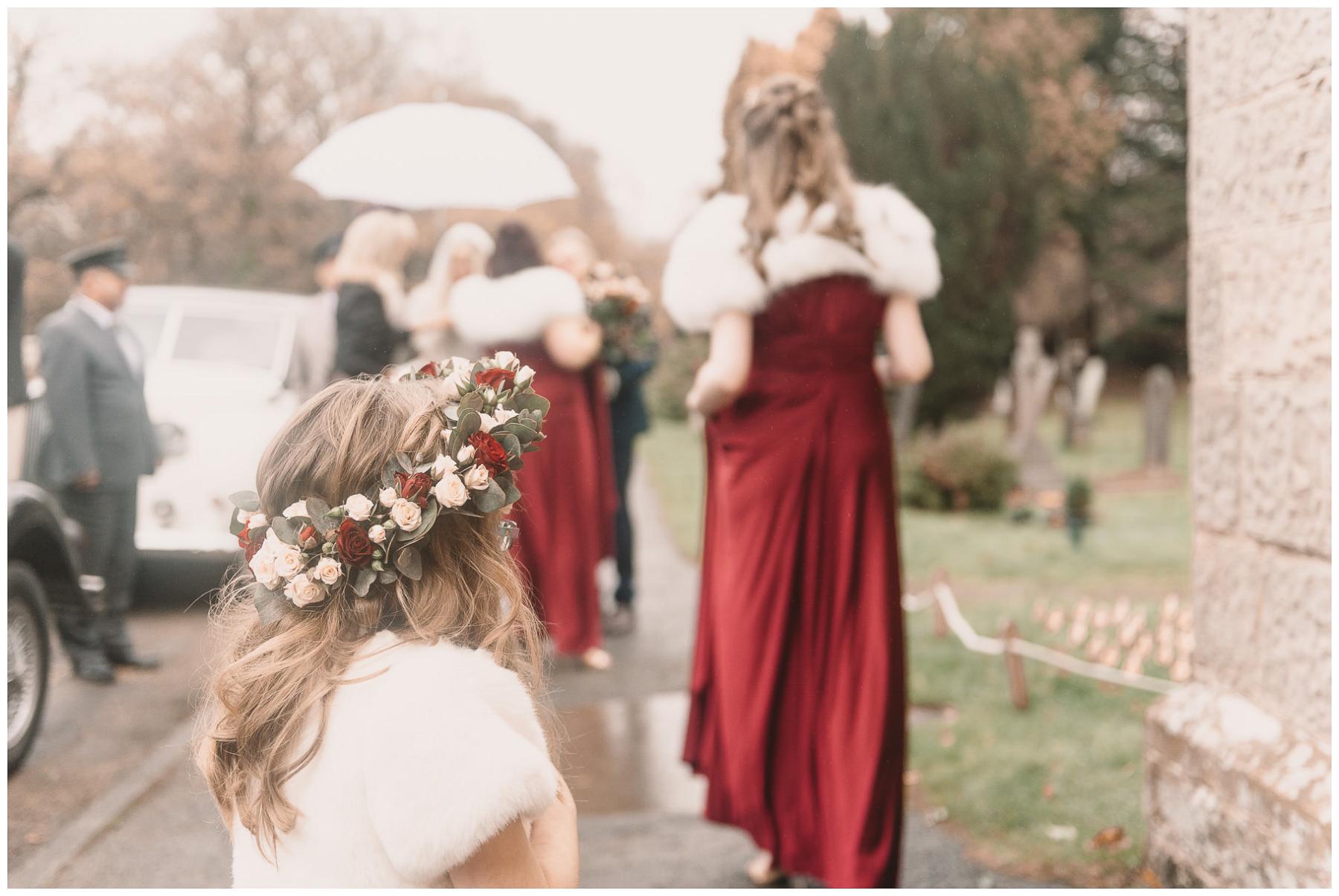 winter wedding photographer in sussex