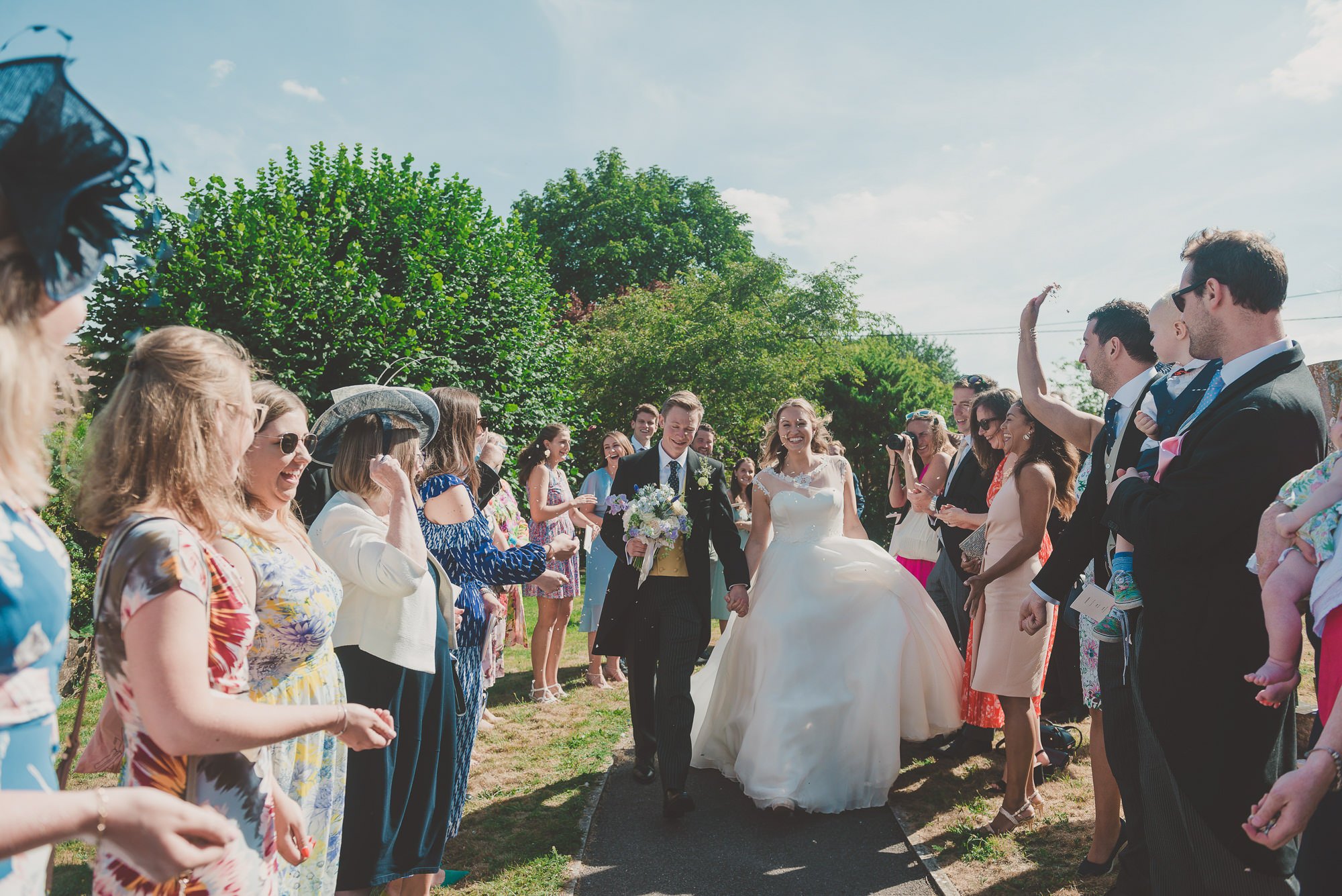 Back Garden Wedding