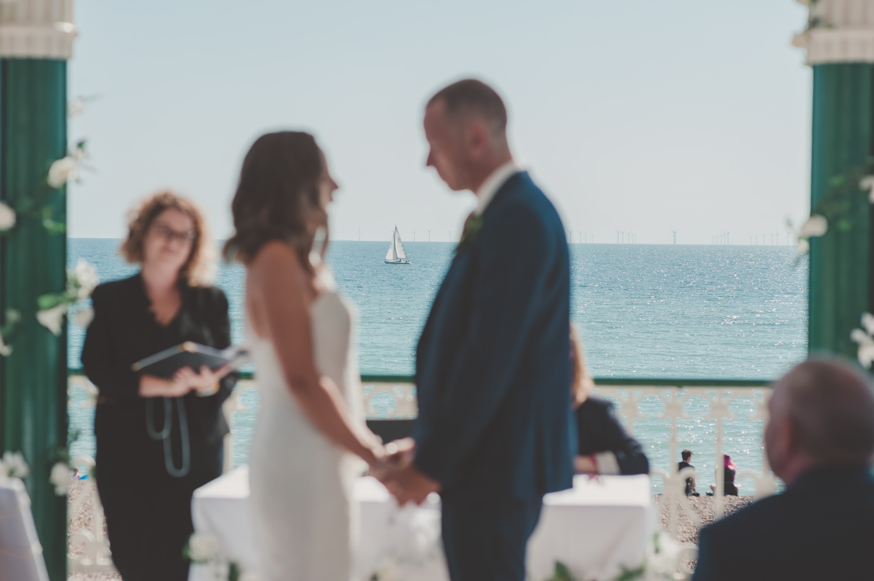 Brighton Bandstand and Angel House Wedding photography