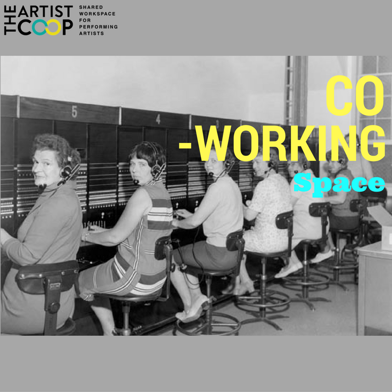 #ArtistCoopFeatures   Coworking: a place to share ideas, build community, collaborate on different projects and organically network
