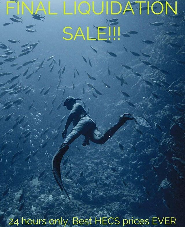 As a celebration of so much @hecsaquatic on @sharkweek unfortunately timed with the business I worked with that created that wetsuit, closing down due to a licence agreement not being satisfactory for us to continue to deliver premium product to market, it's a flash sale of the last sizes. Literally less than cost price as we would rather you have them then the liquidators so get into it. Go to the website. Love you all