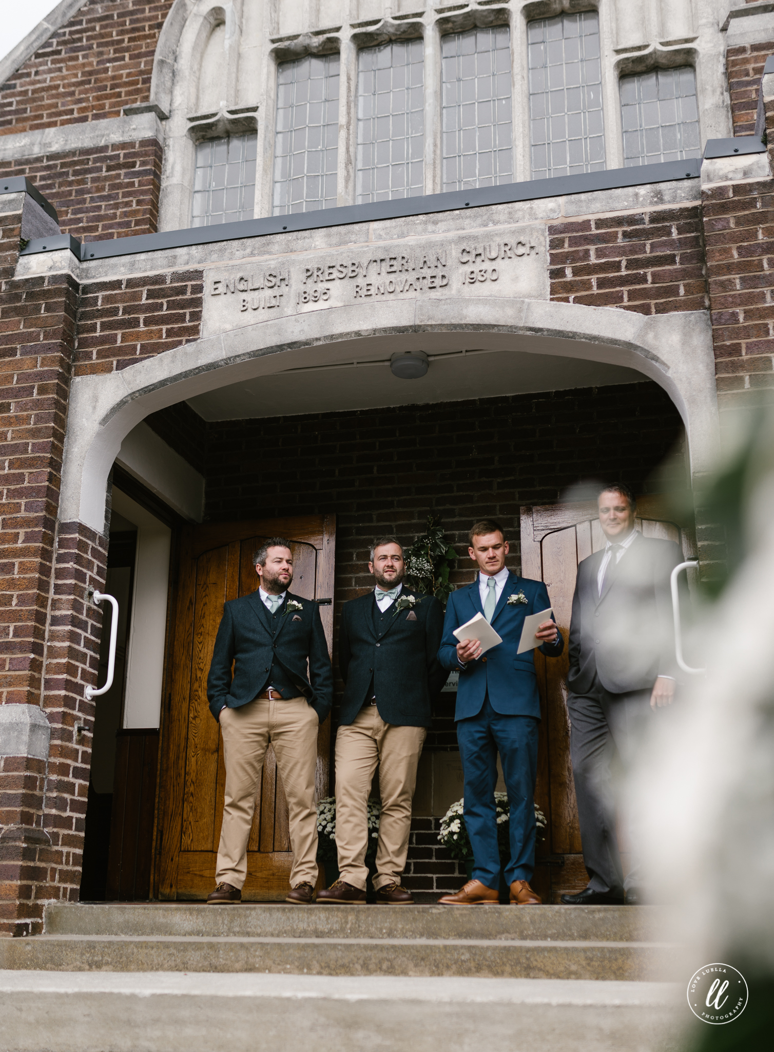 tweed groomsmen north wales