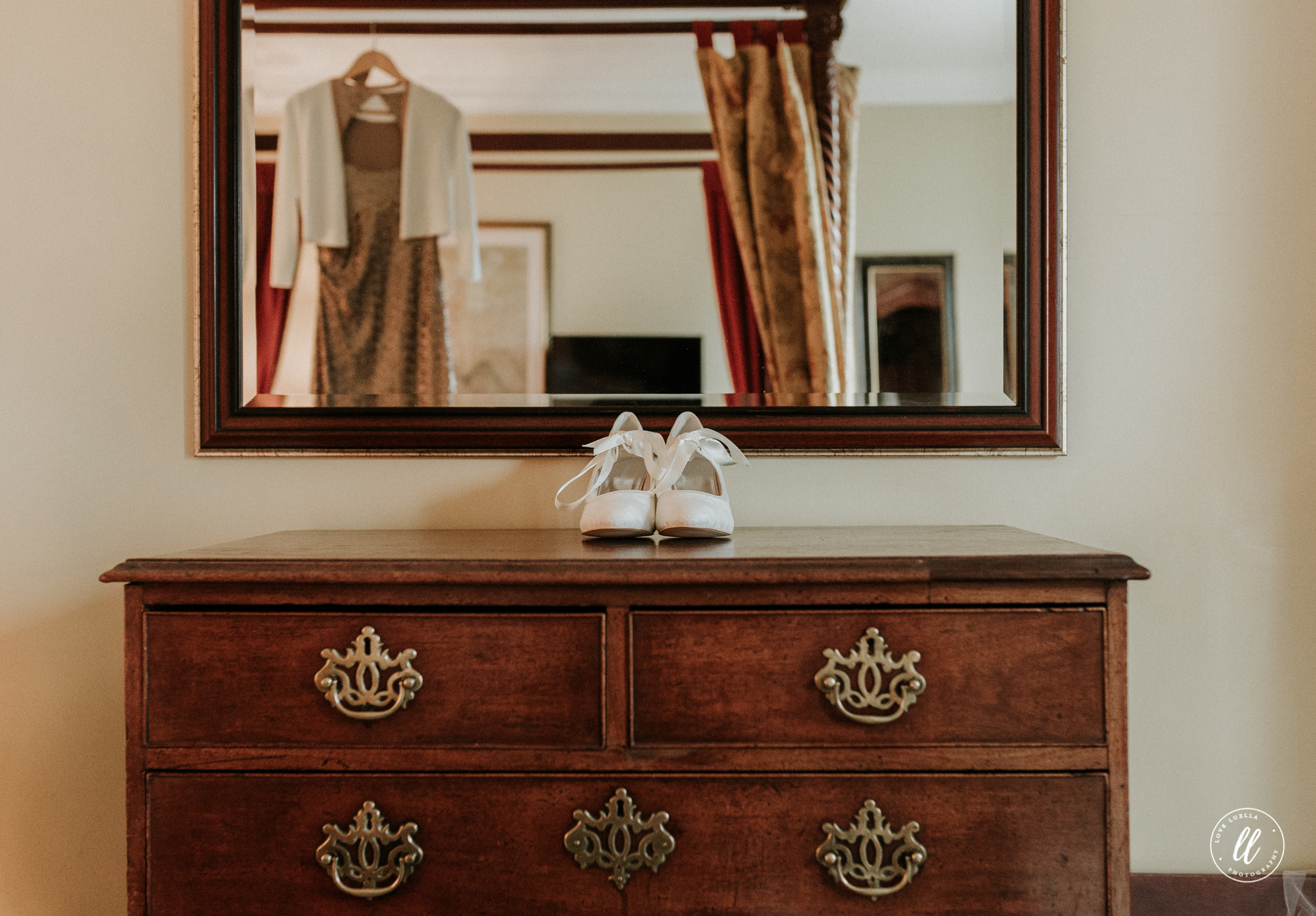 Wedding Shoes-Lake Vyrnwy Hotel
