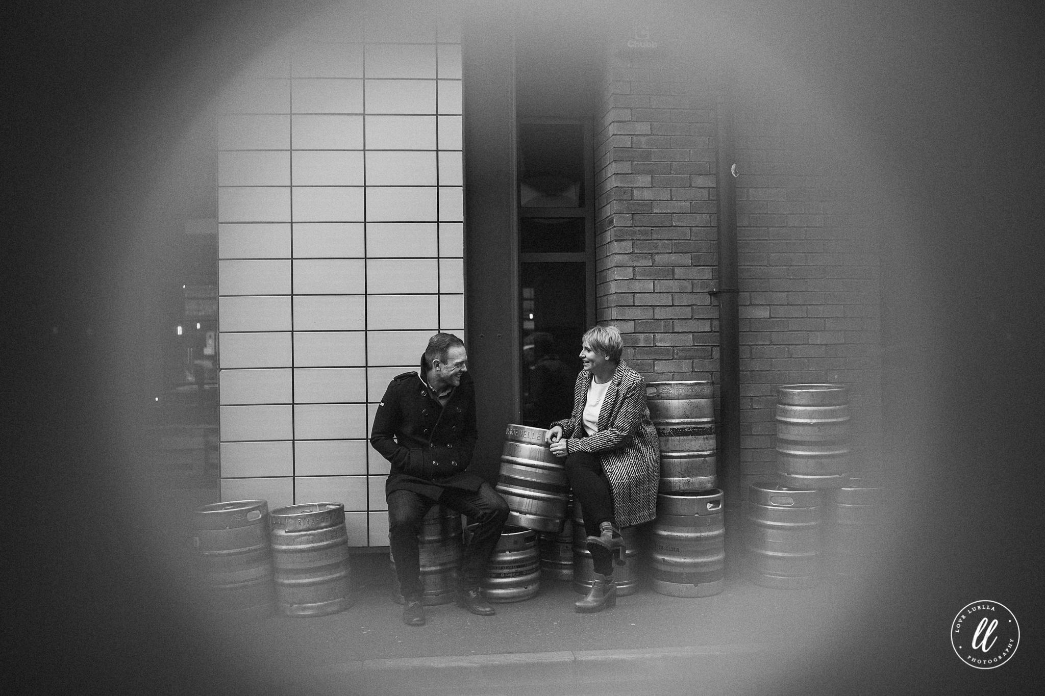 creative couple shoot- northern quarter