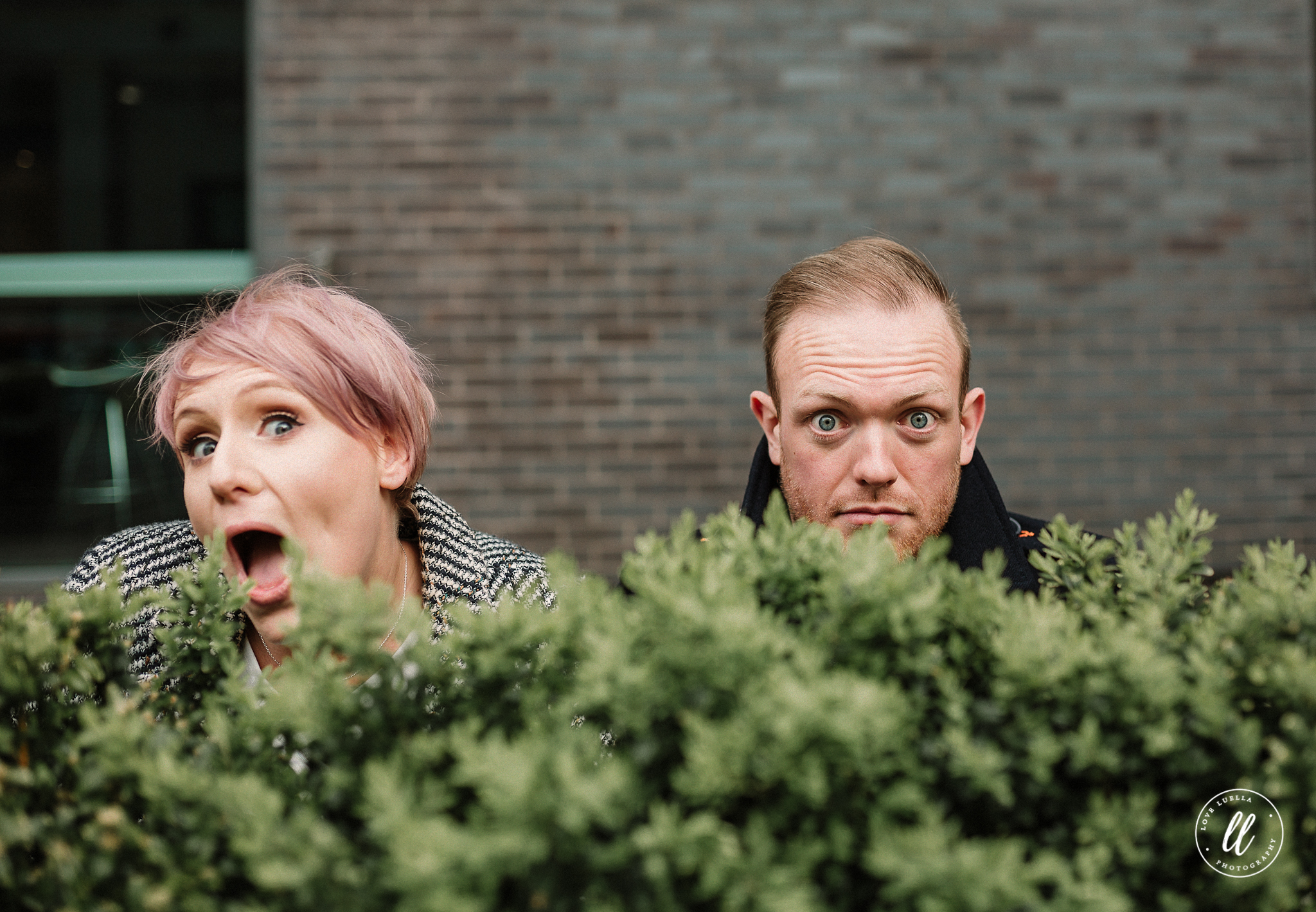 quirky engagement photos northern quarter