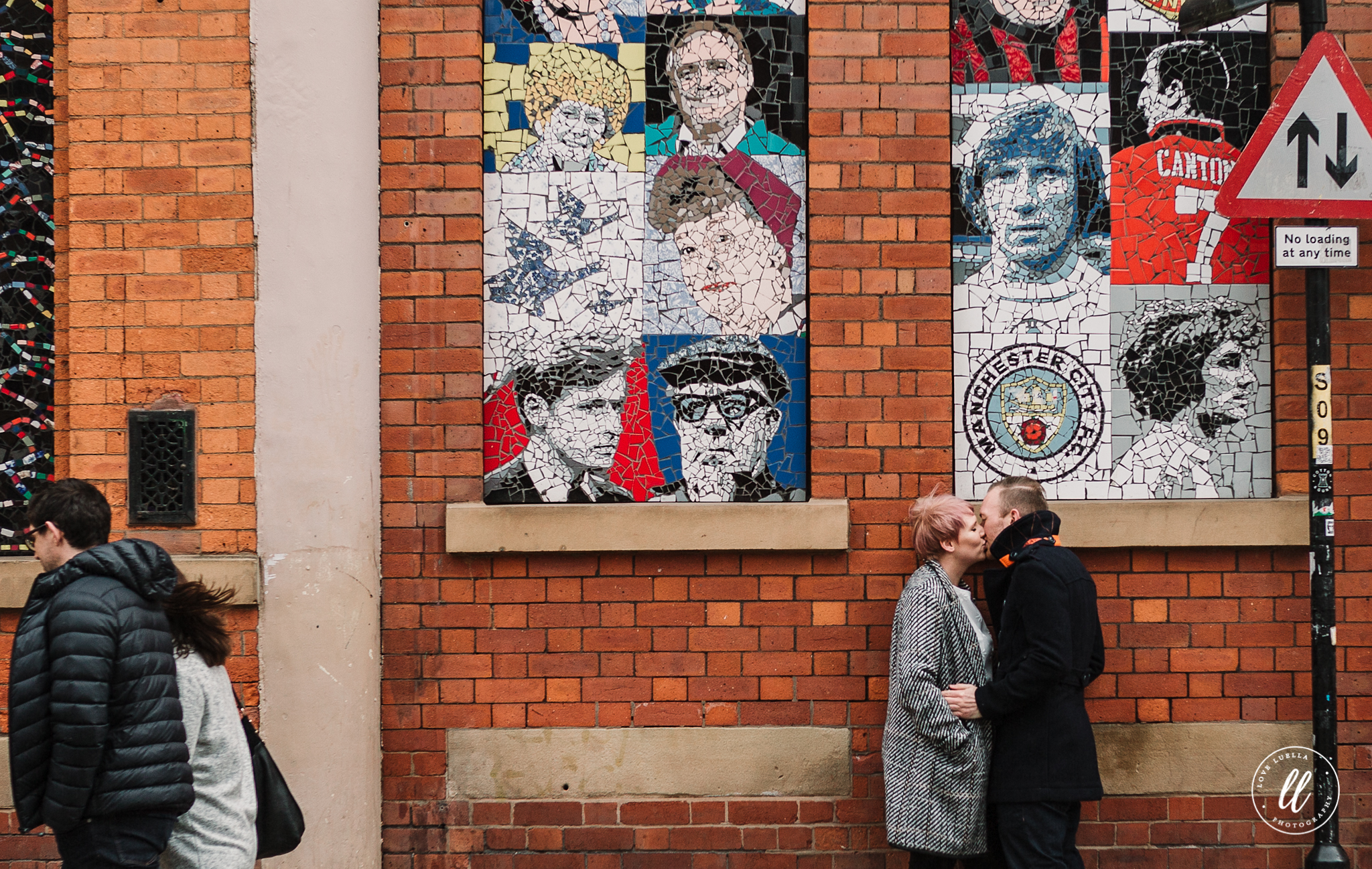 street couple photo- manchester