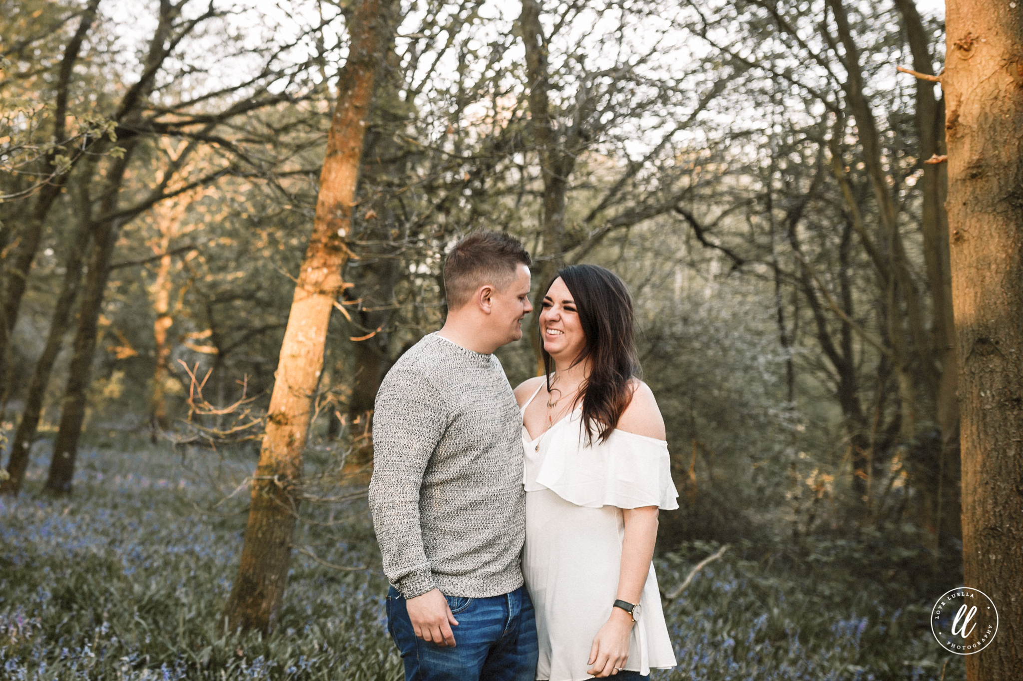 golden hour couple photography north wales