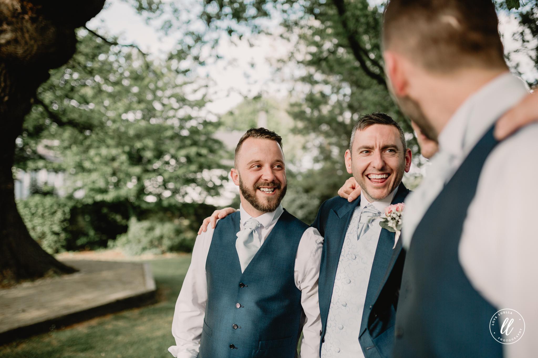 natural groom shot
