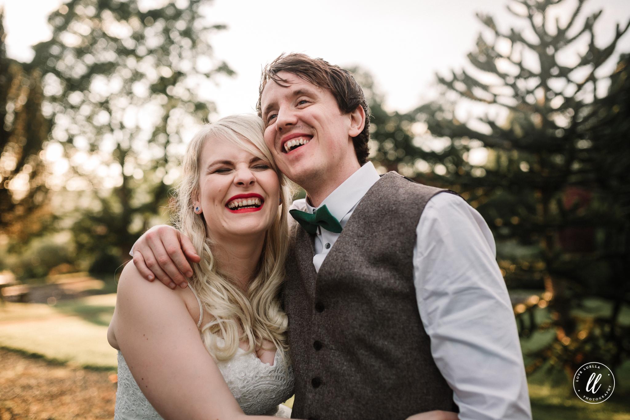 Fun Wedding Photography In Cheshire
