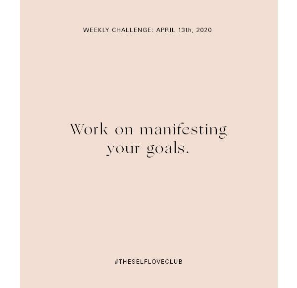 Week 15 Manifest Manifest Manifest Mary Young