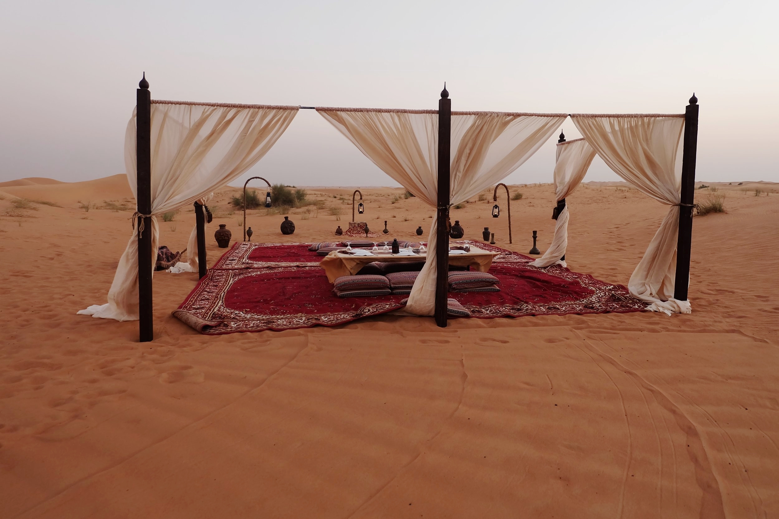 Evening in the Dubai Desert