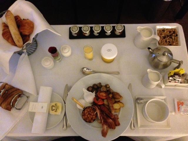 Breakfast at London Sofitel St James Hotel