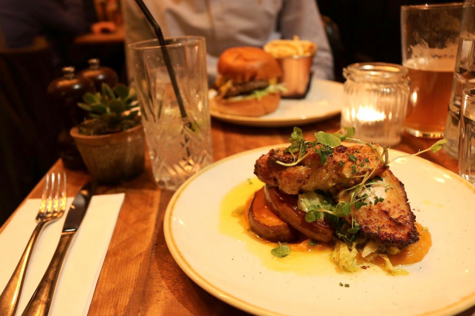 Dotty Dishes - Chicken Kiev at The Fentiman Arms London