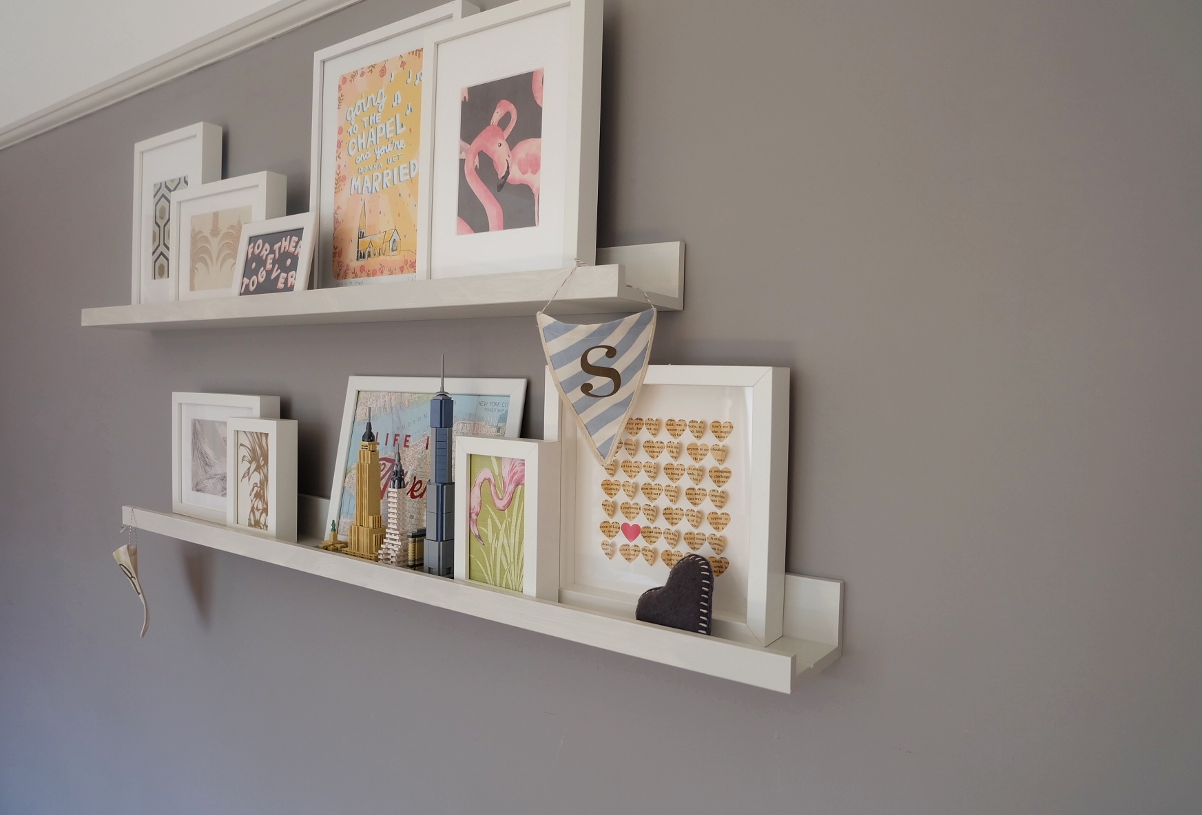 Dotty Dishes Bedroom Makeover