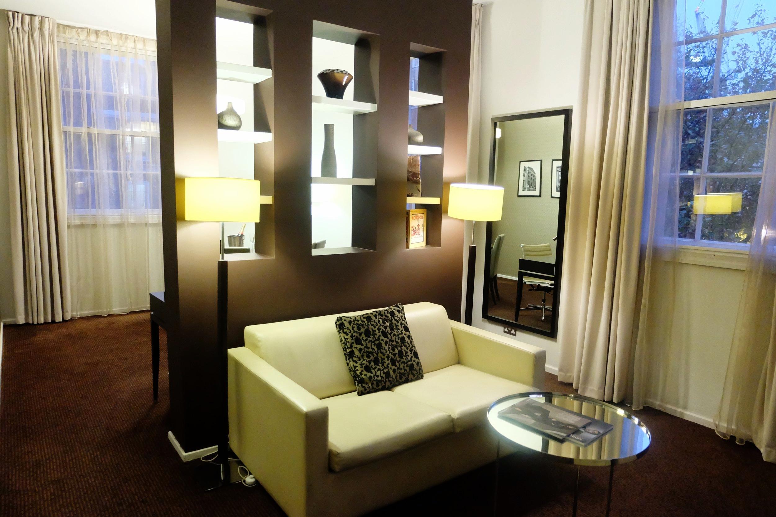 Suite at the London Marriott Hotel Grosvenor Square