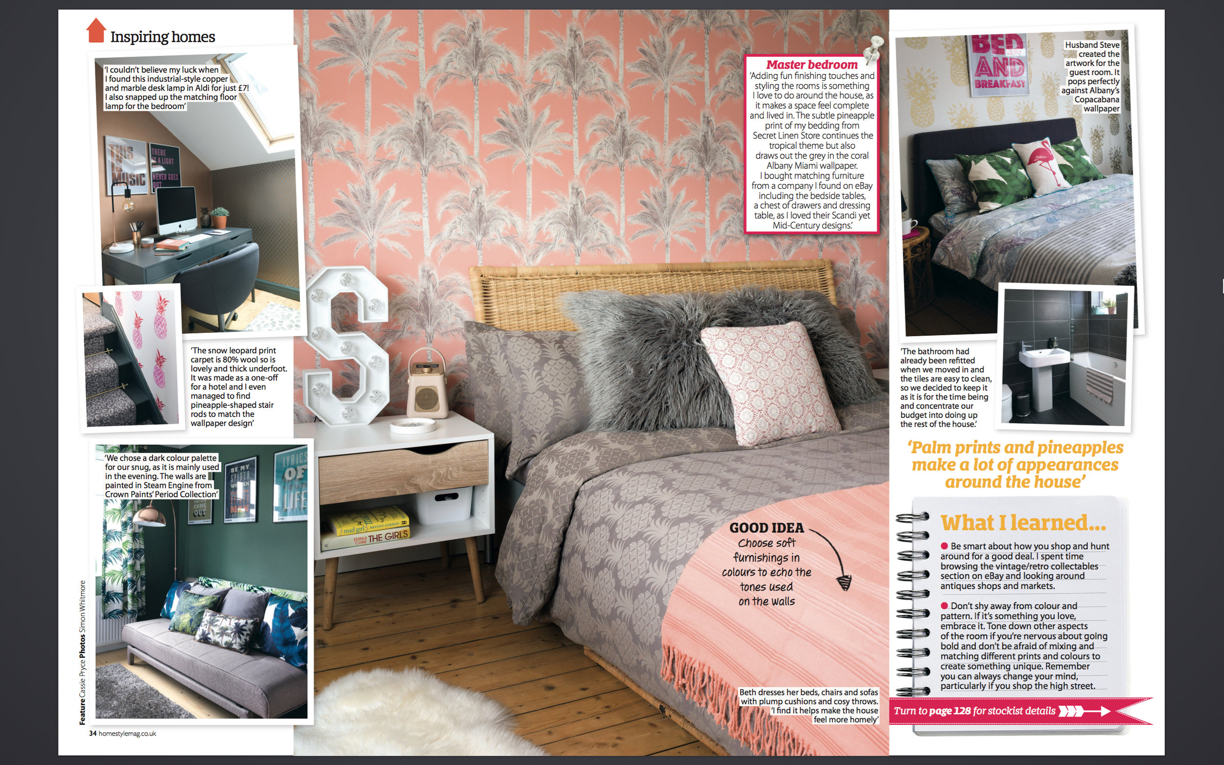 Home Style interiors photoshoot