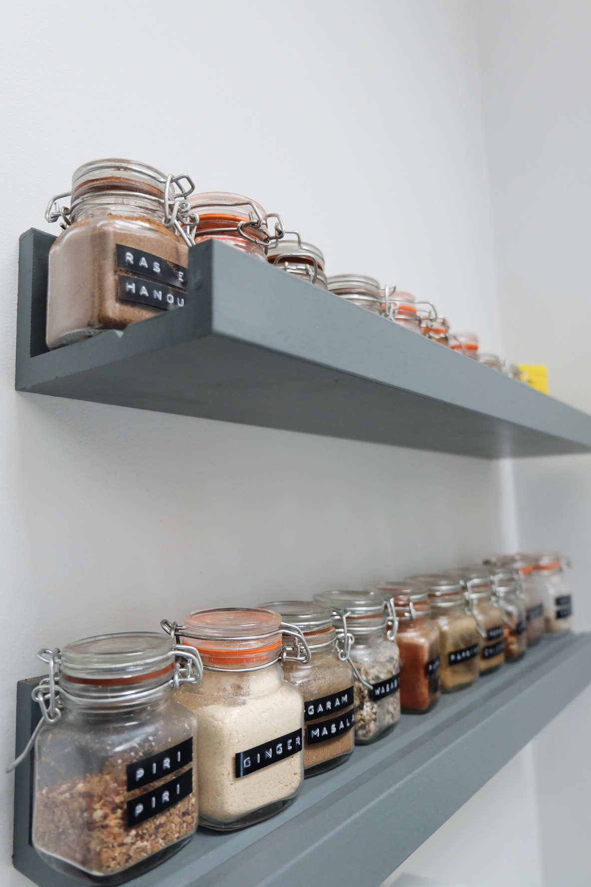 Kitchen spice racks