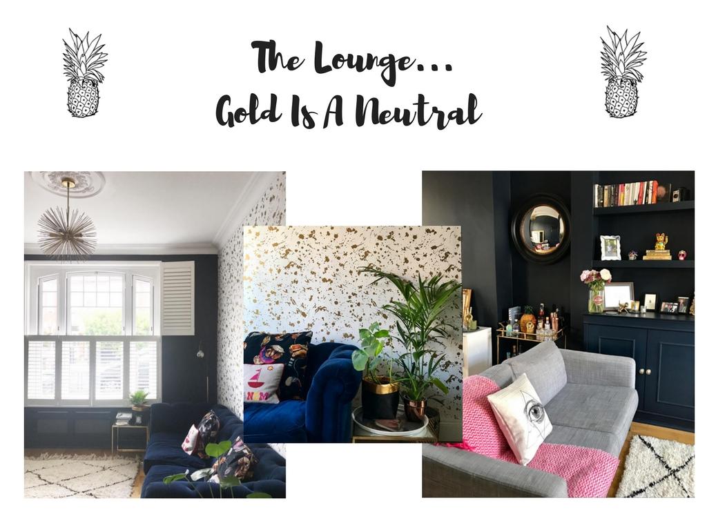 Modern period living room