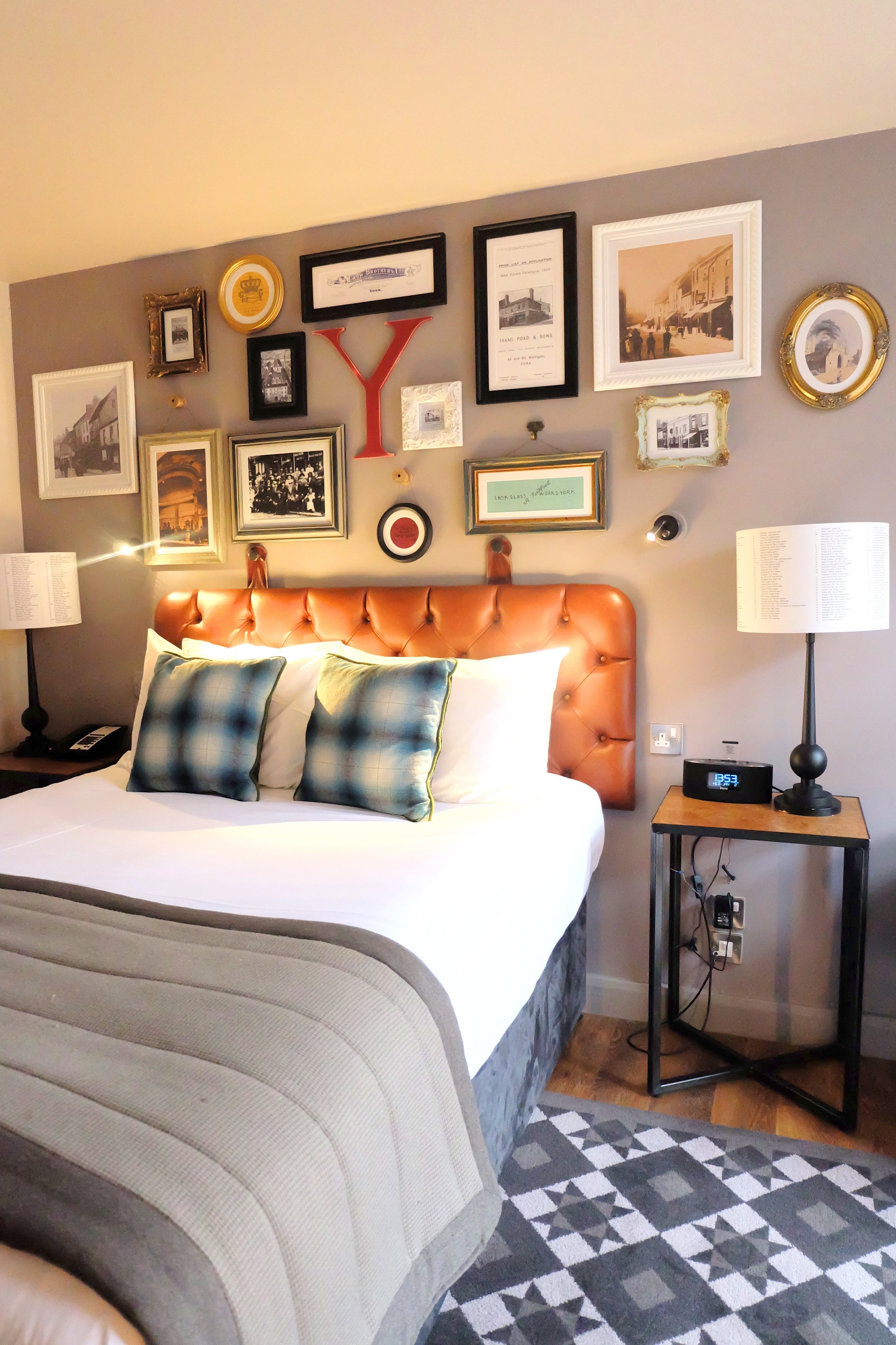 Bedroom at Hotel Indigo York