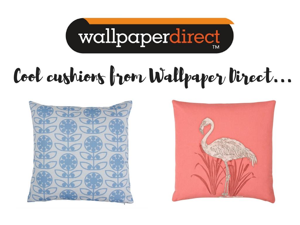 Wallpaper Direct cushions