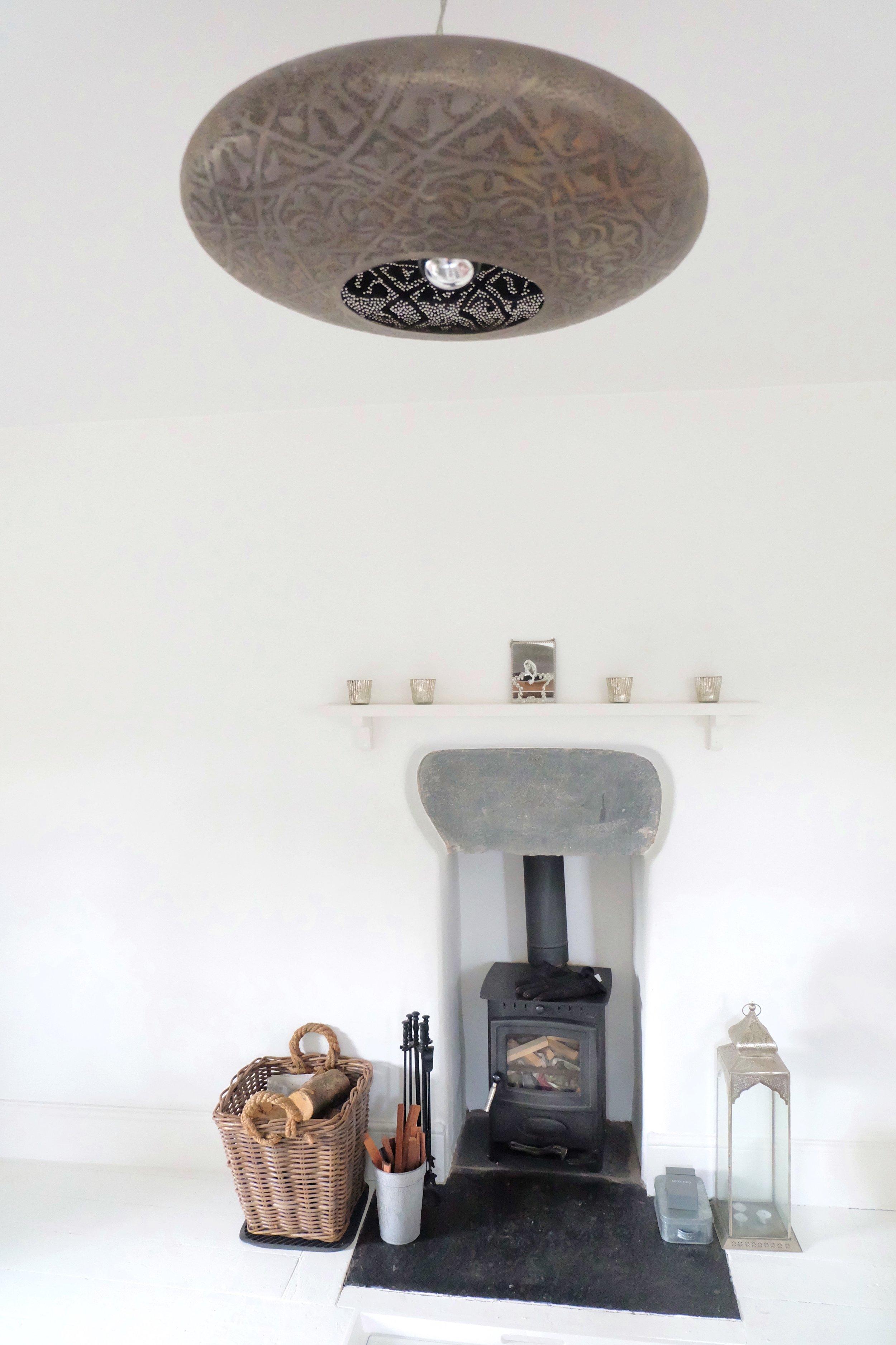 Log burner lounge