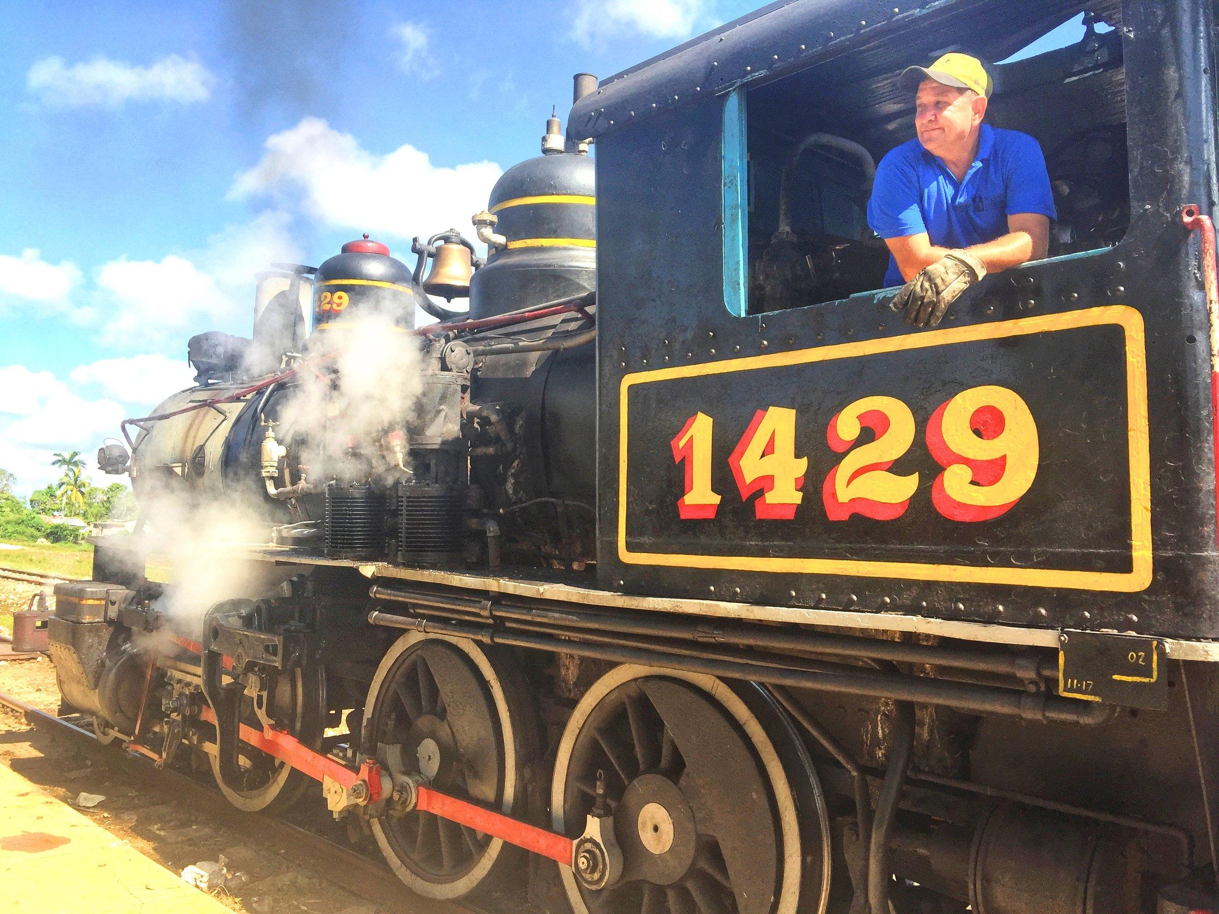 Steam Train Cuba