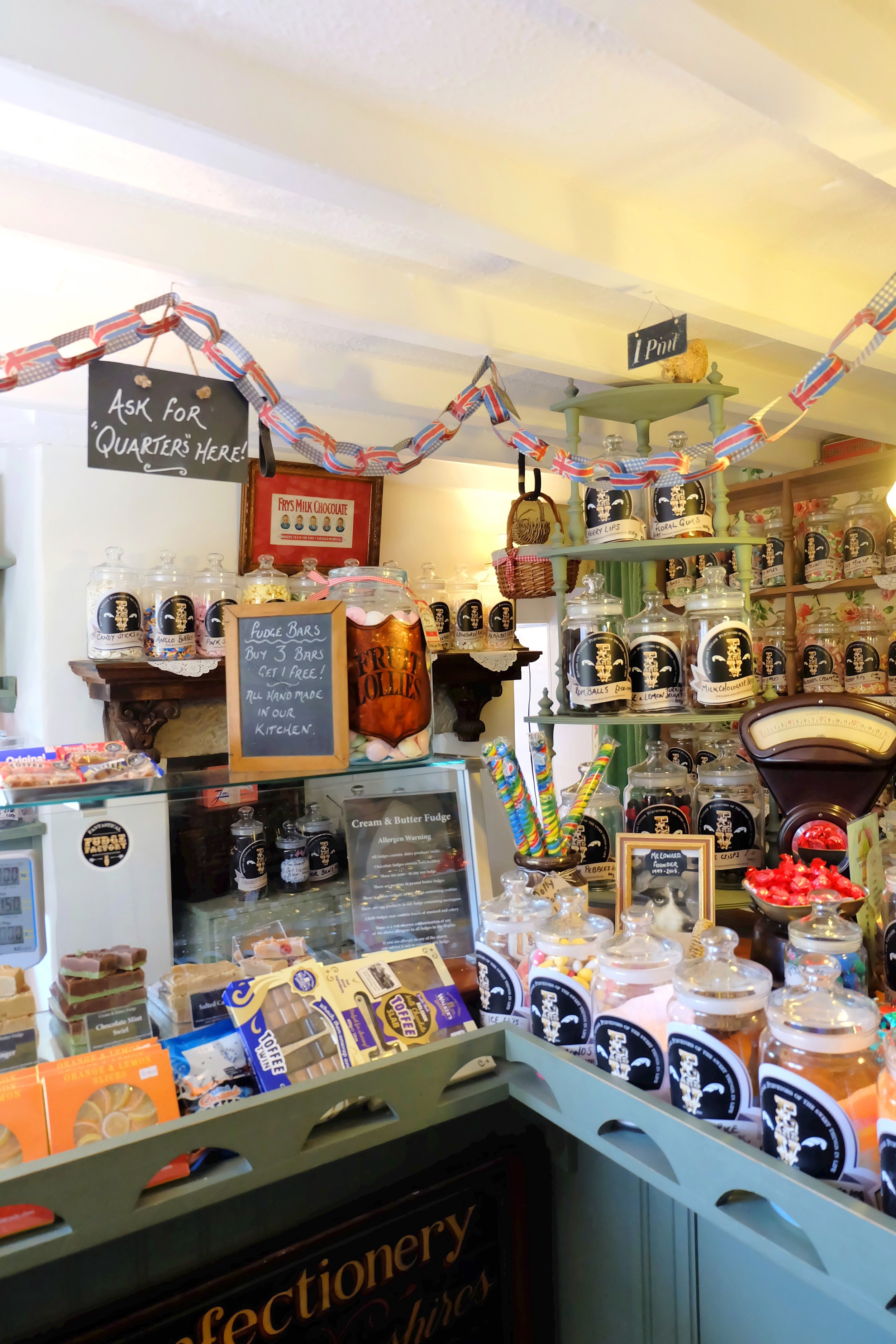 Retro sweet shop Tissington