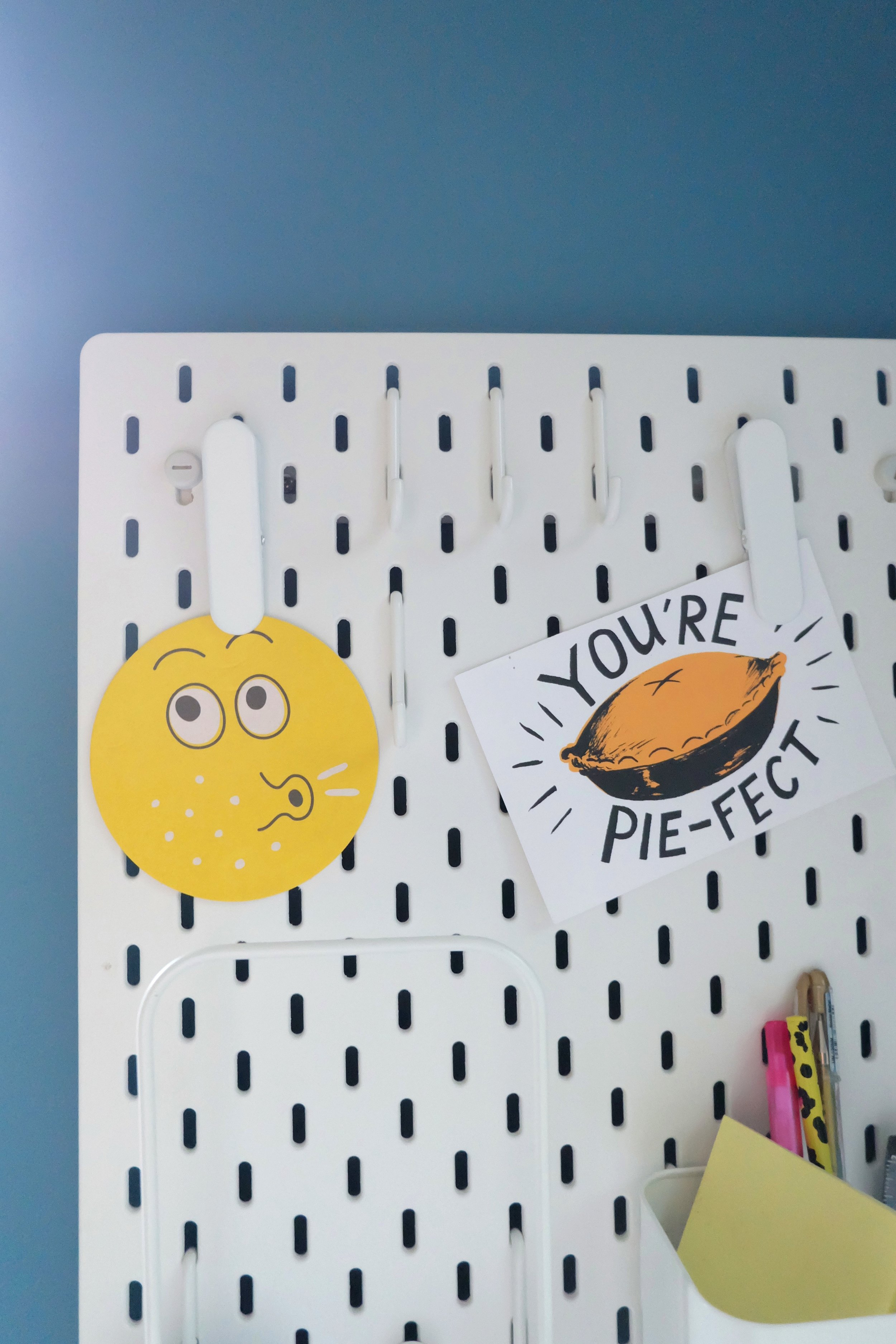 Ikea peg board