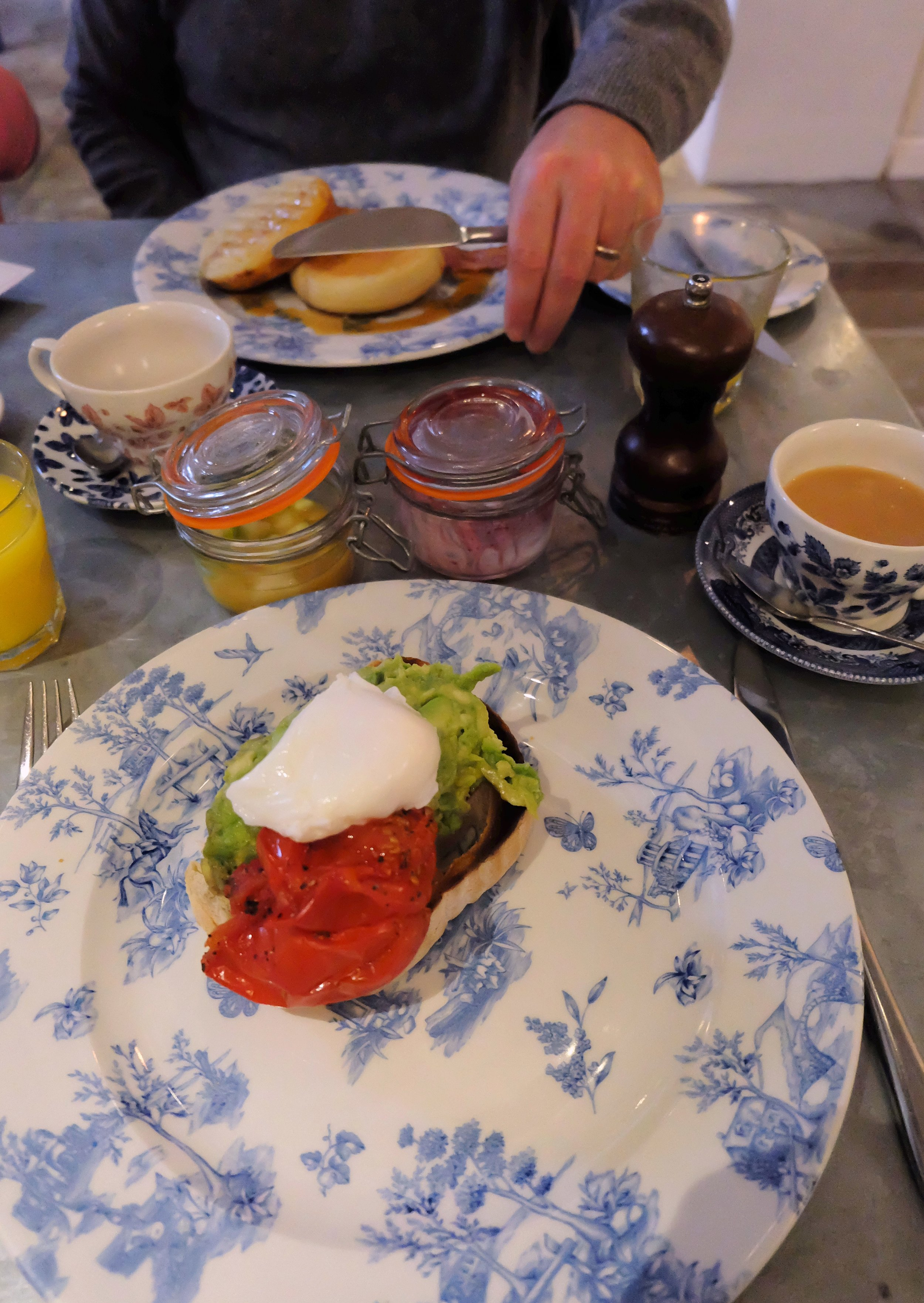 Breakfast at The Swan hotel