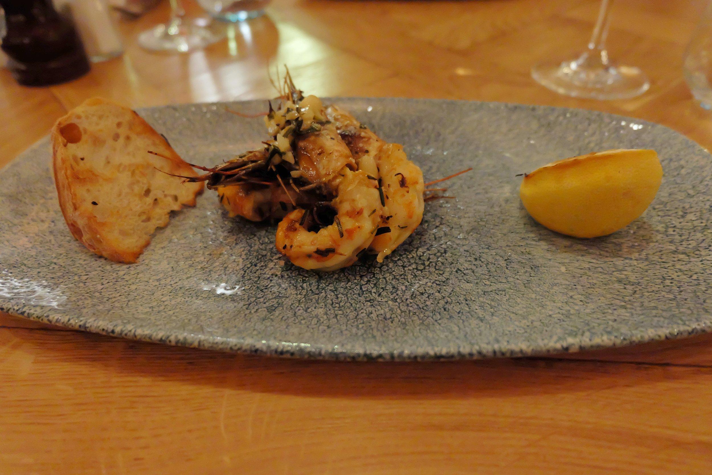 Garlic Prawns FYR Grill