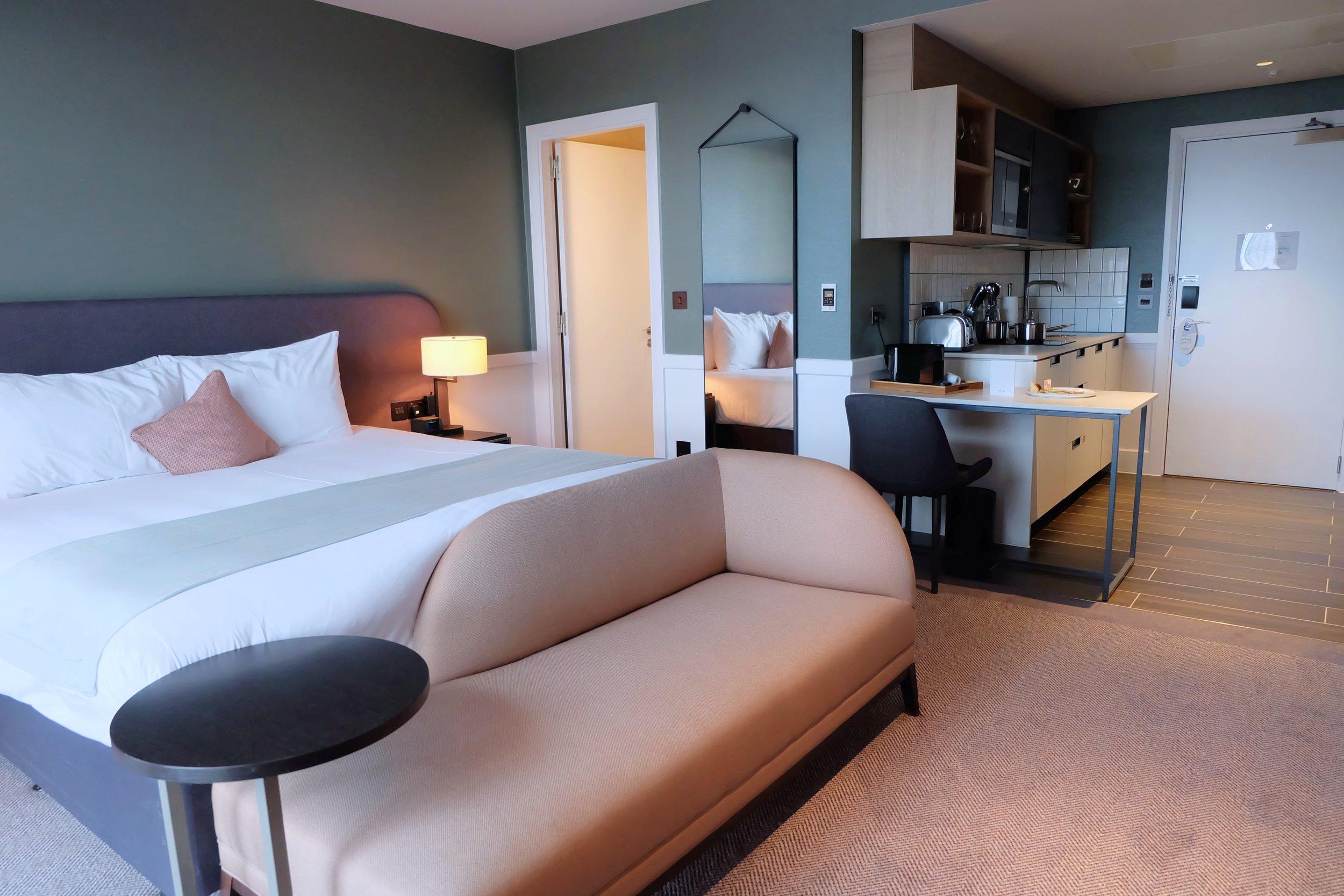Staybridge Suites hotel room