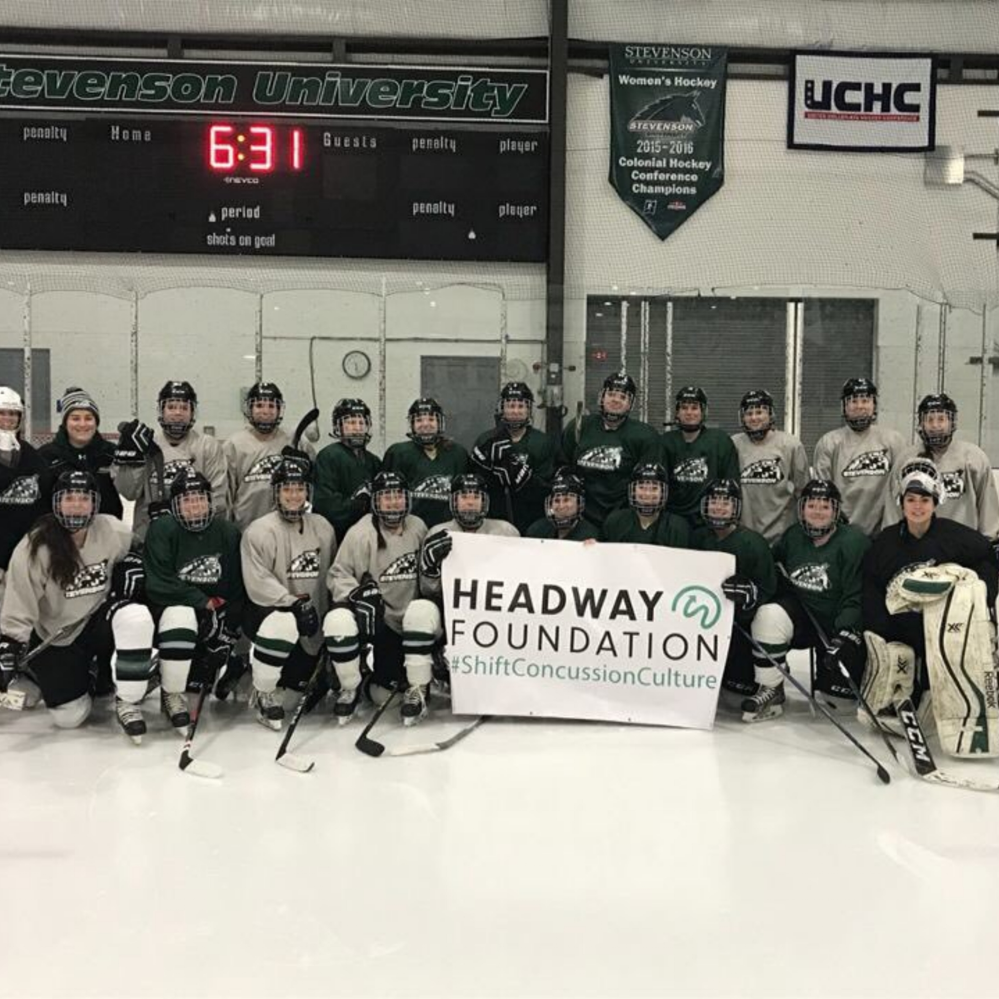 Stevenson Women's Hockey