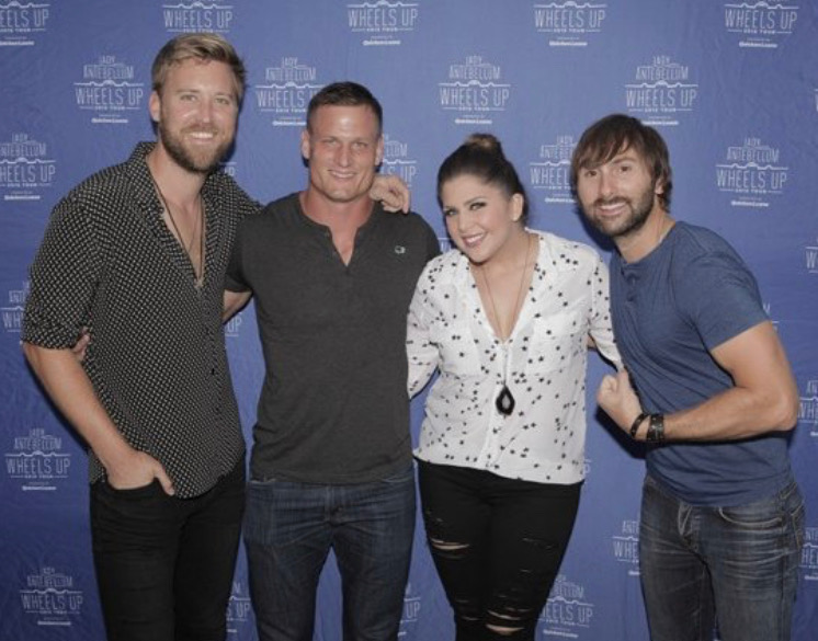 Lady Antebellum - Take me Dowtown & Wheels Up -