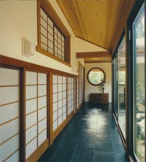 Japanese Hallway