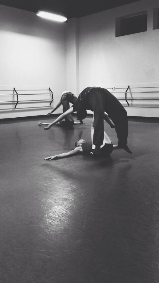 A moment from Joshua L. Peugh's new creation premiering September 2014   Photo by dancer Hailey Harding