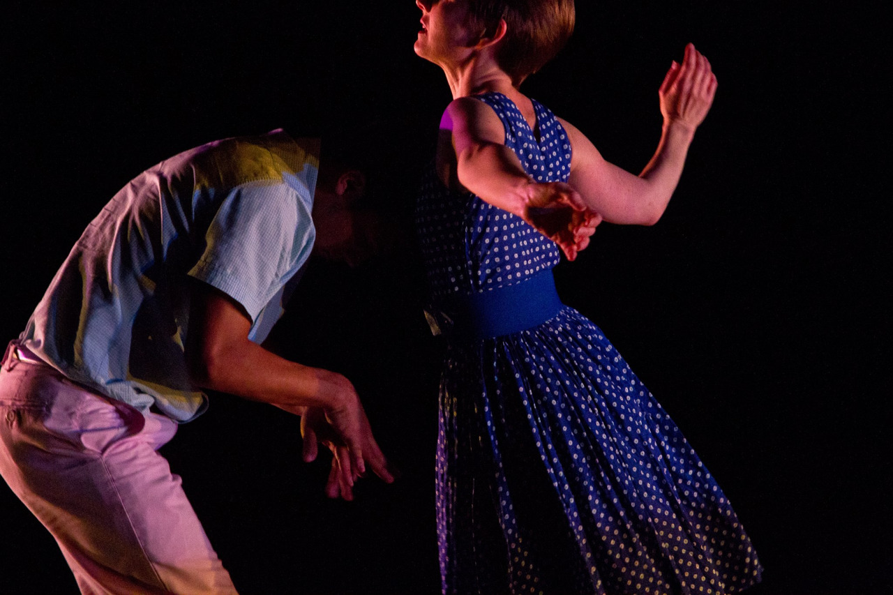 'Cosmic Sword' at ReverbDance Festival in NYC    Photo by Stephanie Crousillat