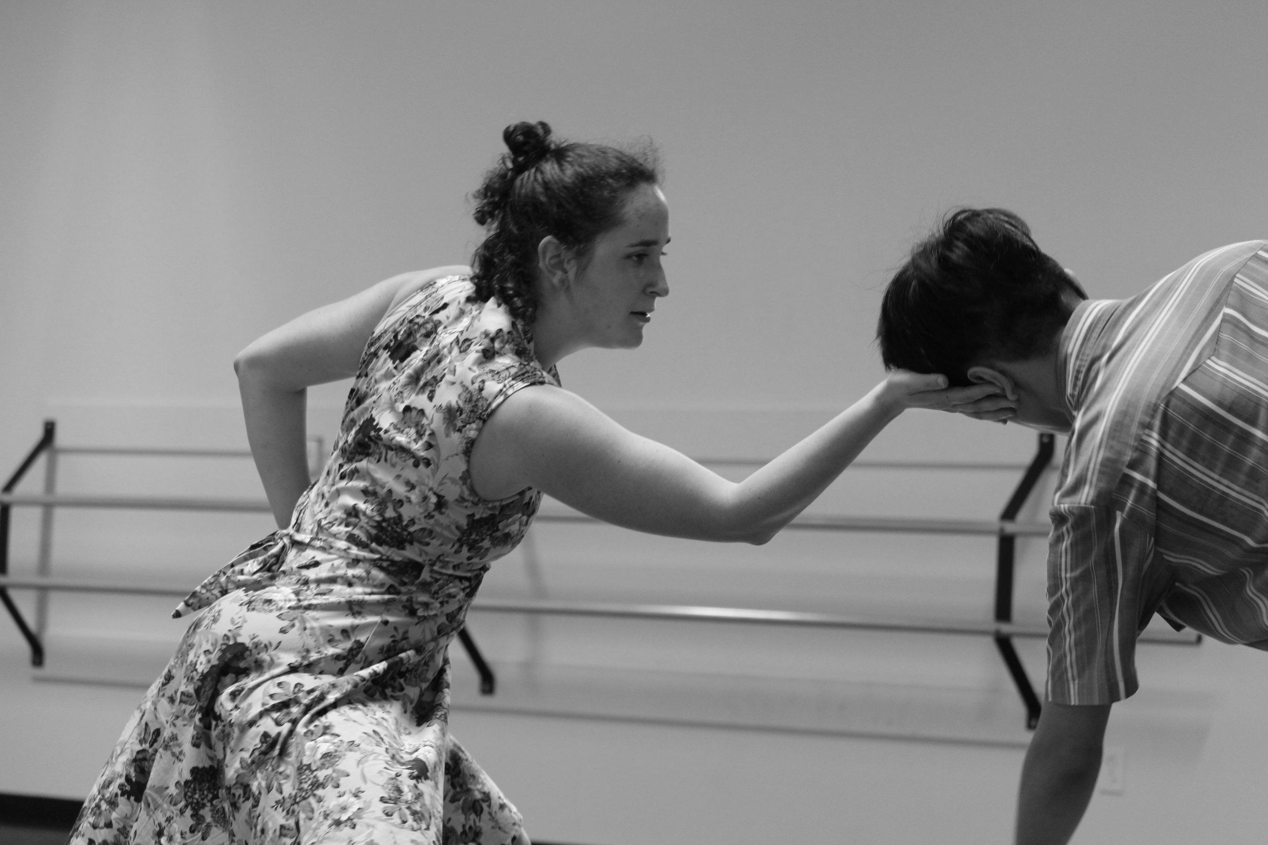 Lena rehearsing  Rattletrap .
