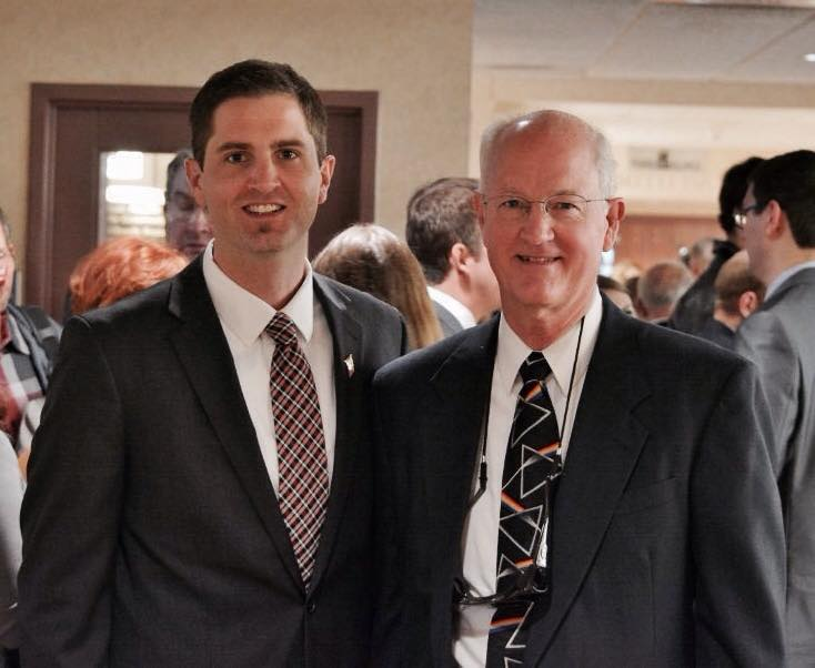 High Ground Veterans Advocacy Fellow Tyson Manker, with his late father, Robin Manker.